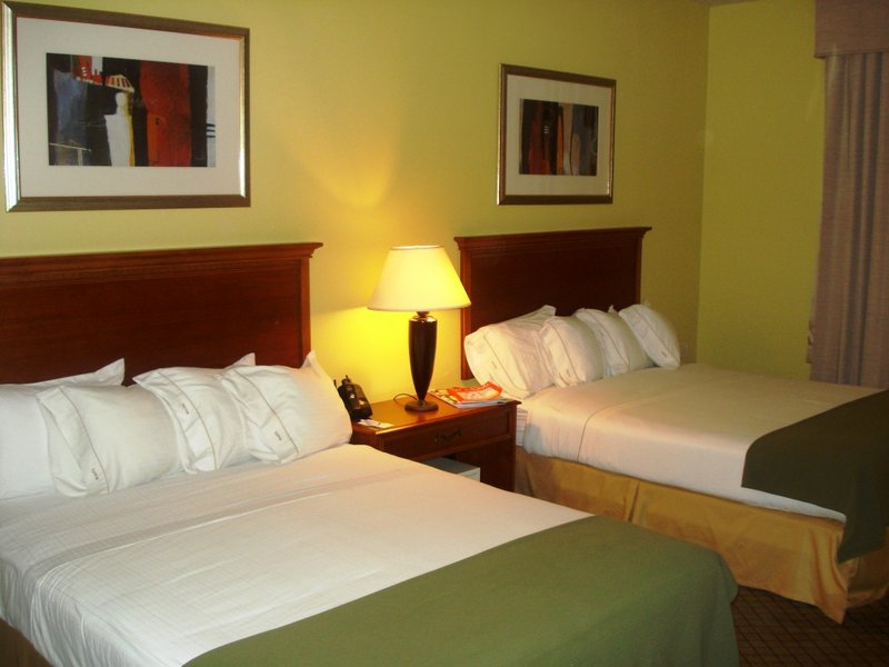 Holiday Inn Express Hotel & Suites Trincity Trinidad Airport-Queen Bed Guest Room<br/>Image from Leonardo