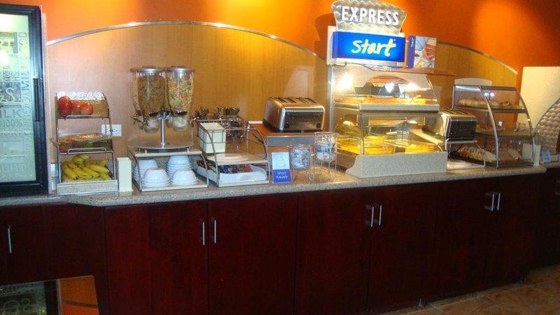 Holiday Inn Express Hotel & Suites Trincity Trinidad Airport-Breakfast Bar<br/>Image from Leonardo