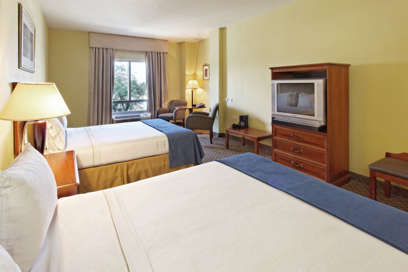 Holiday Inn Express Hotel & Suites Trincity Trinidad Airport-Double Bed Guest Room<br/>Image from Leonardo