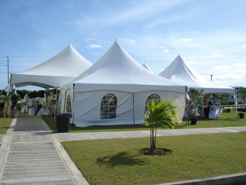 Holiday Inn Express Hotel & Suites Trincity Trinidad Airport-Wedding held on the Grounds<br/>Image from Leonardo