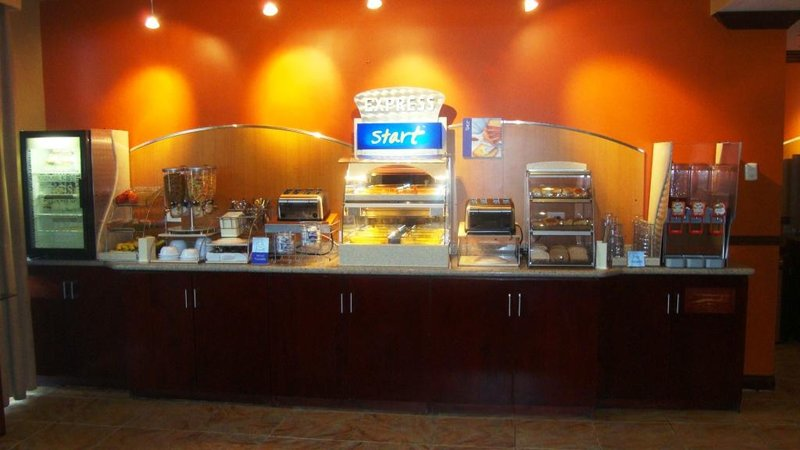 Holiday Inn Express Hotel & Suites Trincity Trinidad Airport-Breakfast Area<br/>Image from Leonardo