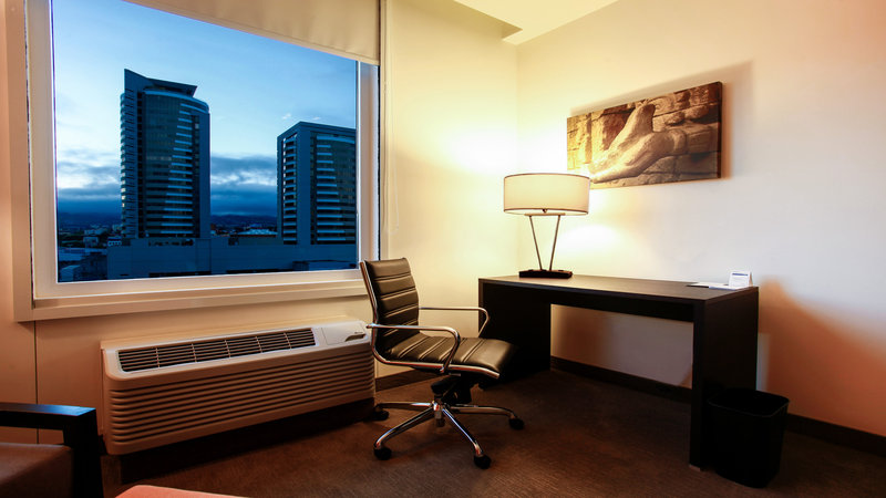 Holiday Inn Express Tegucigalpa-View from Room<br/>Image from Leonardo