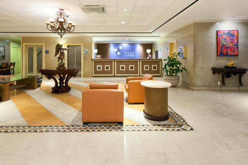 Holiday Inn Express Oaxaca-Centro Historico-Step inside our stylish Lobby<br/>Image from Leonardo