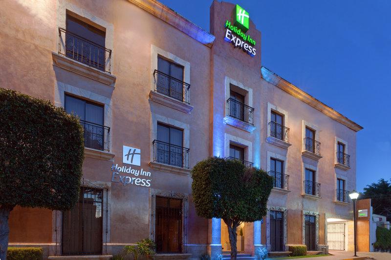 Holiday Inn Express Oaxaca-Centro Historico-Hotel Exterior Dusk<br/>Image from Leonardo
