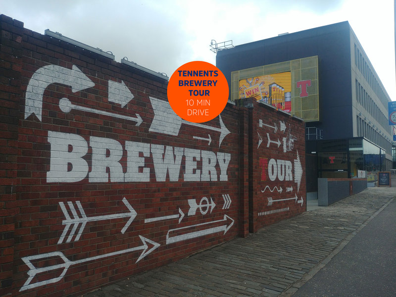 Holiday Inn Express Glasgow - City Centre Riverside-Tennents Brewery Tour - 10 minute drive from our hotel<br/>Image from Leonardo