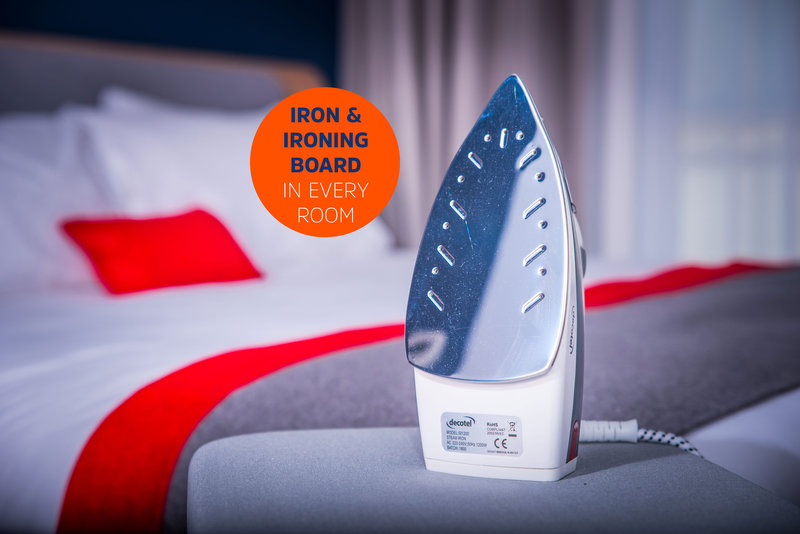 Holiday Inn Express Glasgow - City Centre Riverside-Look your best with the in-room ironing facilities<br/>Image from Leonardo
