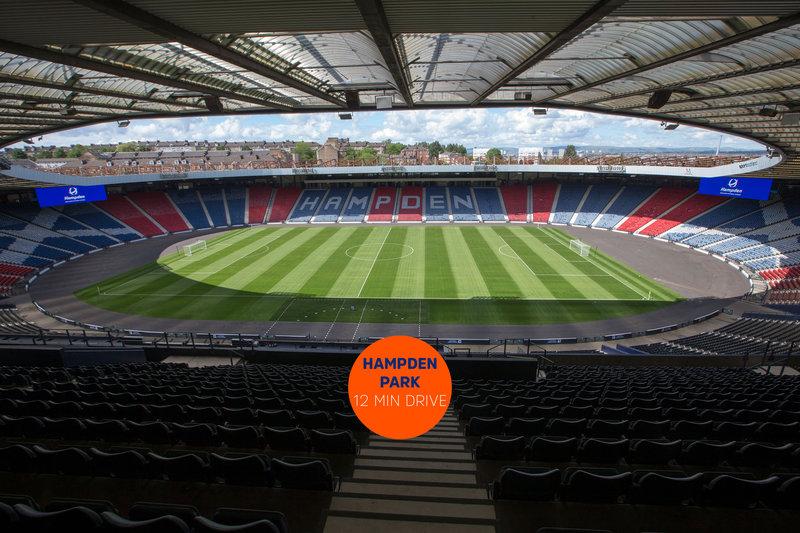 Holiday Inn Express Glasgow - City Centre Riverside-Hampden Park, Scotland's National Stadium<br/>Image from Leonardo
