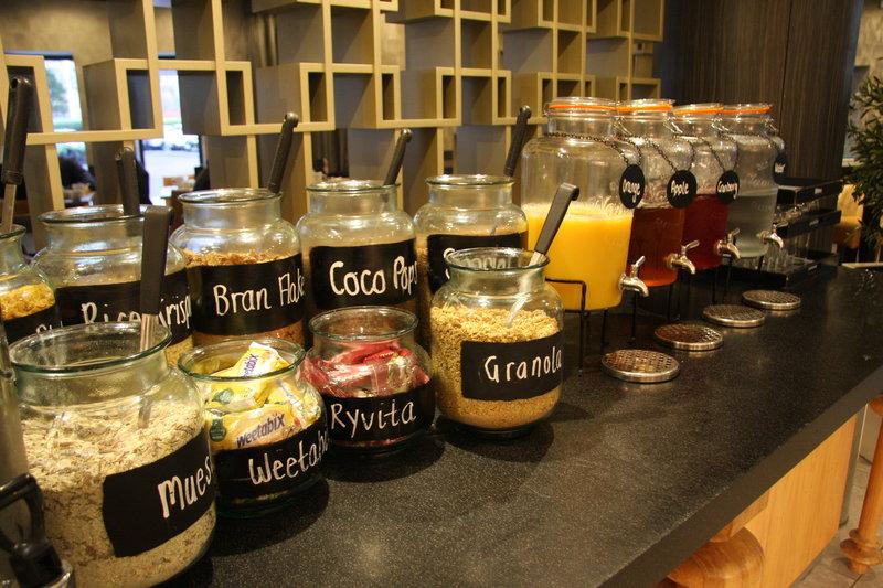 Crowne Plaza Liverpool City Centre-breakfast options<br/>Image from Leonardo