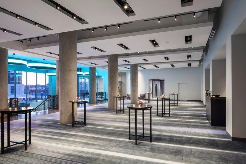 Aloft Boston Seaport-Mann Ballroom Pre-Function Area<br/>Image from Leonardo
