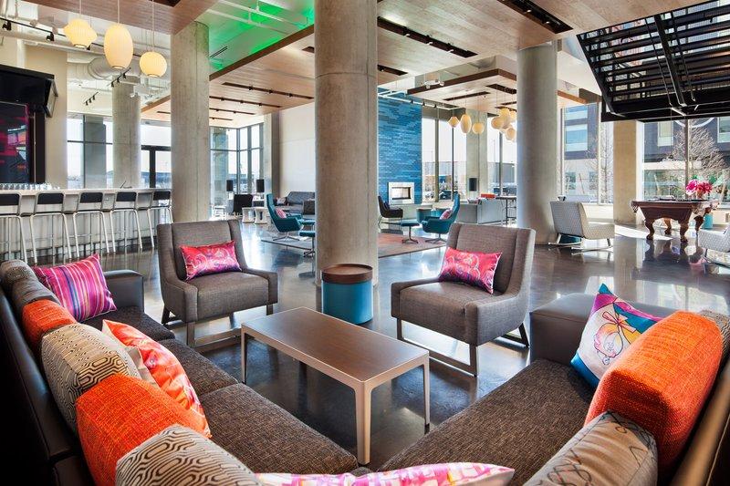 Aloft Boston Seaport-Re:mix Lounge<br/>Image from Leonardo
