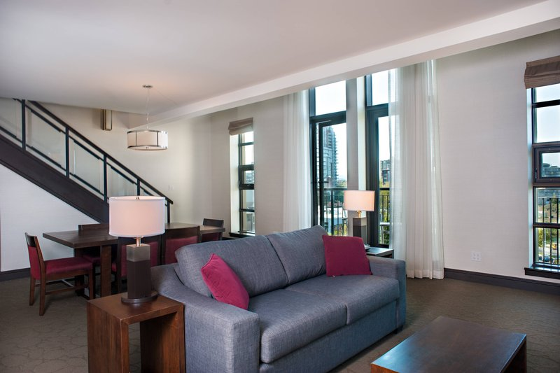 Delta Hotels by Marriott Victoria Ocean Point Resort-Loft Suite - Living Room - No View<br/>Image from Leonardo