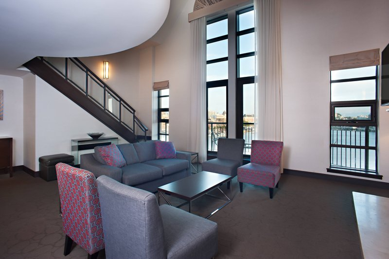 Delta Hotels by Marriott Victoria Ocean Point Resort-Presidential Suite - Living Room & Water Views<br/>Image from Leonardo