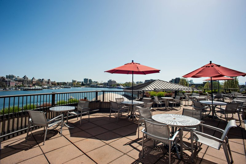 Delta Hotels by Marriott Victoria Ocean Point Resort-Club Lounge - Patio<br/>Image from Leonardo