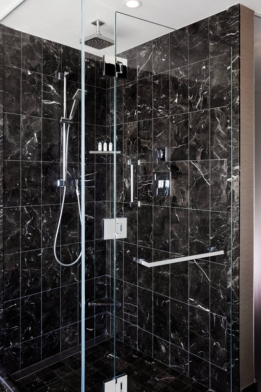 Delta Hotels by Marriott Toronto-Chairman Suite Guest Bathroom - Walk-In Shower<br/>Image from Leonardo