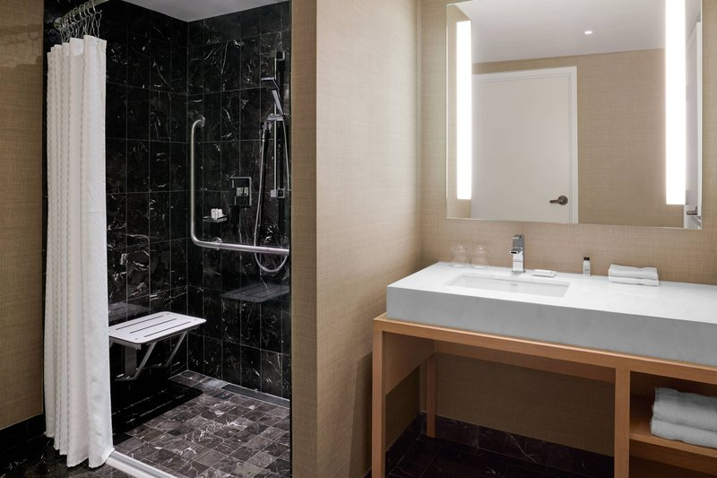 Delta Hotels by Marriott Toronto-Murphy Suite - Accessible Guest Bathroom<br/>Image from Leonardo