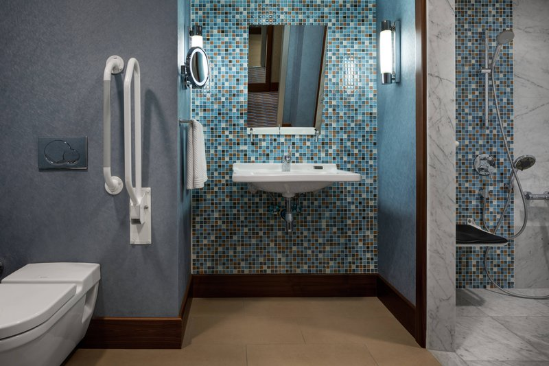 Renaissance Izmir Hotel-Deluxe Accessible Bathroom - Roll-in Shower<br/>Image from Leonardo