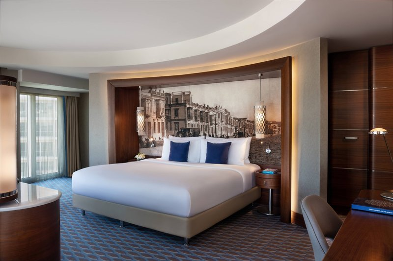 Renaissance Izmir Hotel-Executive Suite - Bedroom<br/>Image from Leonardo
