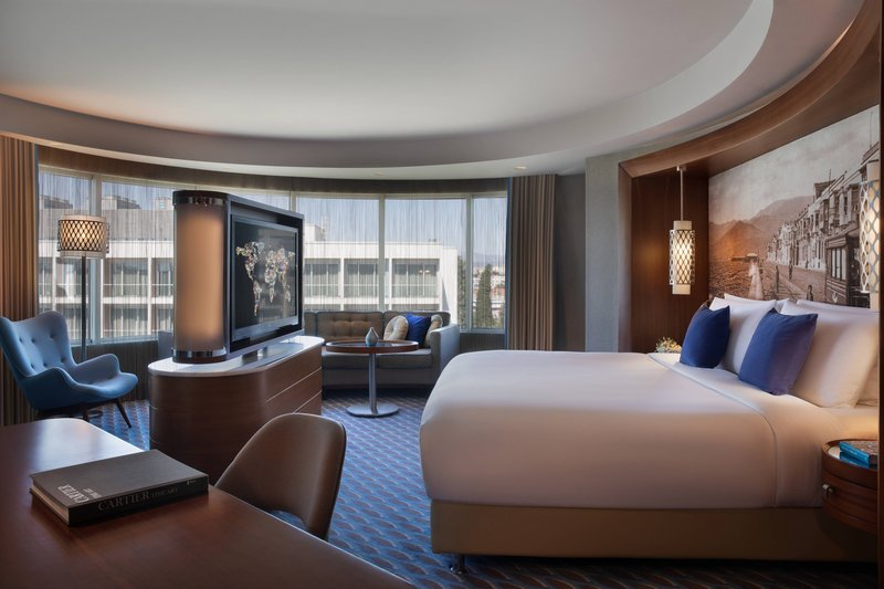 Renaissance Izmir Hotel-Junior Suite - Sleeping Area<br/>Image from Leonardo