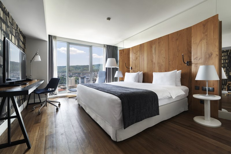 Holiday Inn Tbilisi-Standard King Bed Guest Room With Its Own Working Area<br/>Image from Leonardo