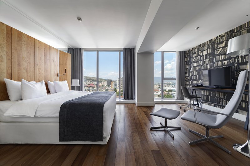 Holiday Inn Tbilisi-Business Room With King Size Bed And Its Own Working Area<br/>Image from Leonardo