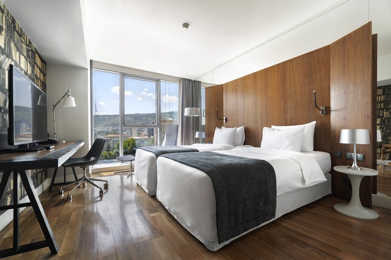 Holiday Inn Tbilisi-Standard Double Bed Guest Room With Its Own Working Area<br/>Image from Leonardo