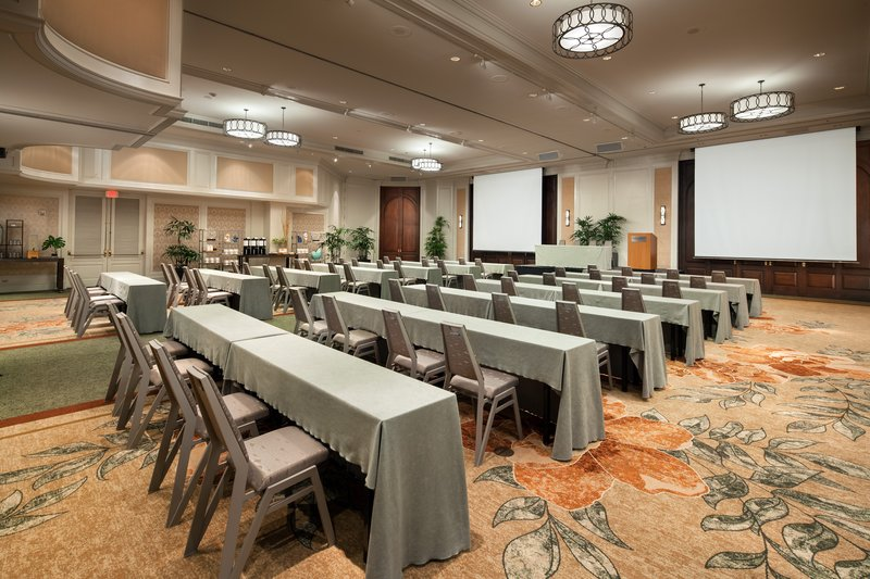 Moana Surfrider, A Westin Resort & Spa, Waikiki Beach - Grand Ballroom Meeting Setup <br/>Image from Leonardo