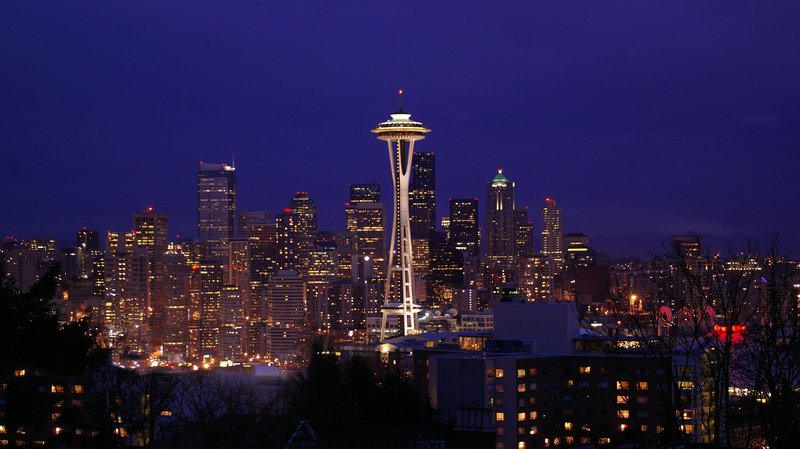 Crowne Plaza Seattle-Downtown-Fantastic view of the skyline from our 34th floor lounge<br/>Image from Leonardo