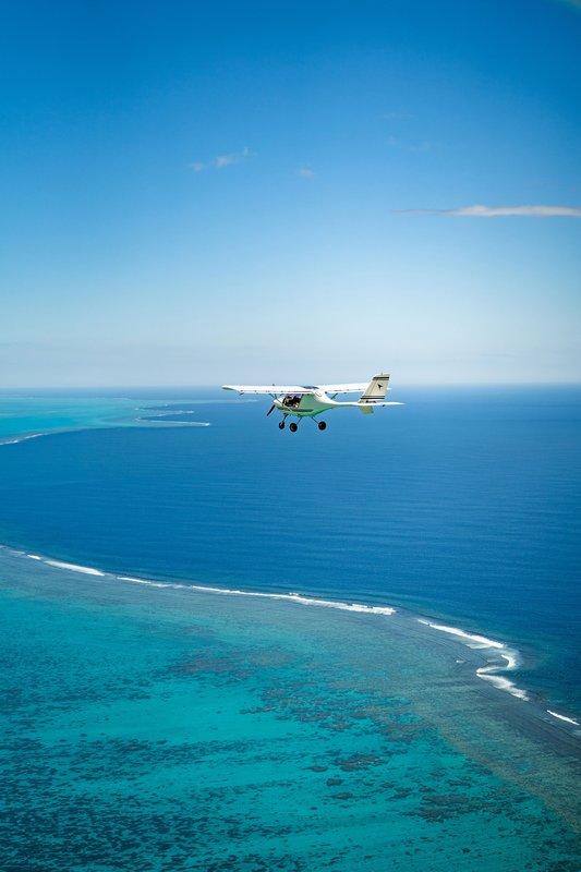 Sheraton New Caledonia Deva Spa And Golf Resort-The Lagoon From Above<br/>Image from Leonardo