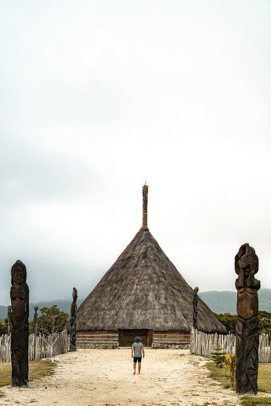 Sheraton New Caledonia Deva Spa And Golf Resort-Melanesian Hut<br/>Image from Leonardo