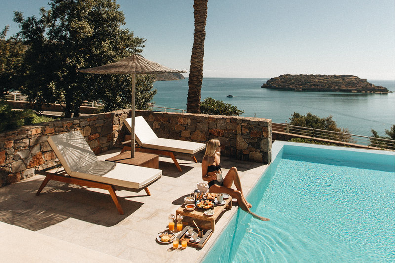Blue Palace; a Luxury Collection Hotel-Guest Room - Private Pool<br/>Image from Leonardo