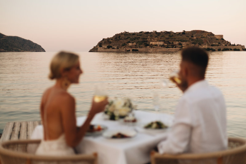 Blue Palace; a Luxury Collection Hotel-Private Dining At The Beach<br/>Image from Leonardo