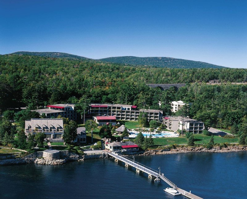 Holiday Inn Resort Bar Harbor - Acadia Natl Park - The beautiful Holiday Inn Bar Harbor on Frenchmans Bay <br/>Image from Leonardo