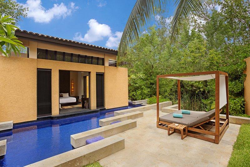 Fairmont Mayakoba - Bliss Pool Villa Exterior <br/>Image from Leonardo