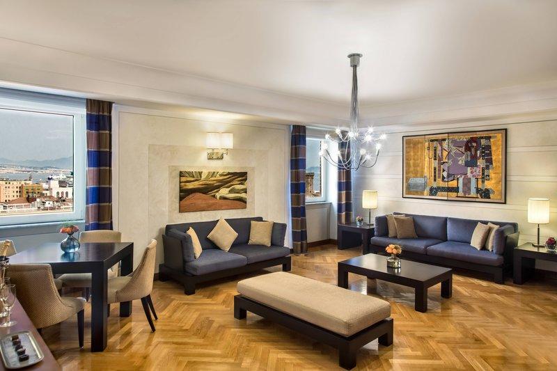 Renaissance Naples Hotel Mediterraneo-Presidential Suite - Living Room<br/>Image from Leonardo