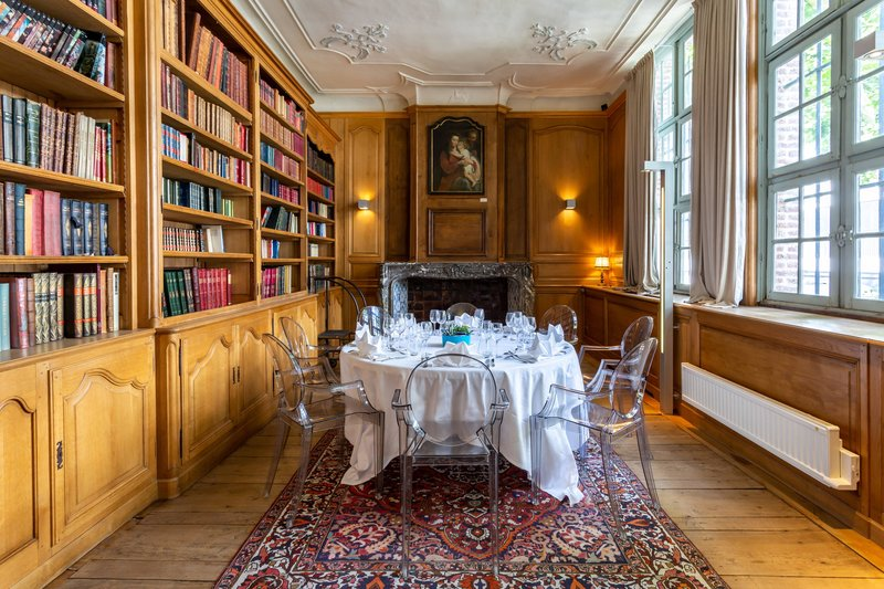 Autograph Collection L'Hermitage Gantois-Bibliothèque Meeting Room<br/>Image from Leonardo