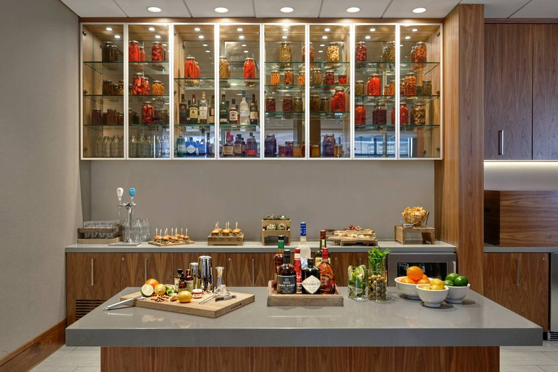 Calgary Marriott Hotel-M Club - Drinks and Appetizers<br/>Image from Leonardo