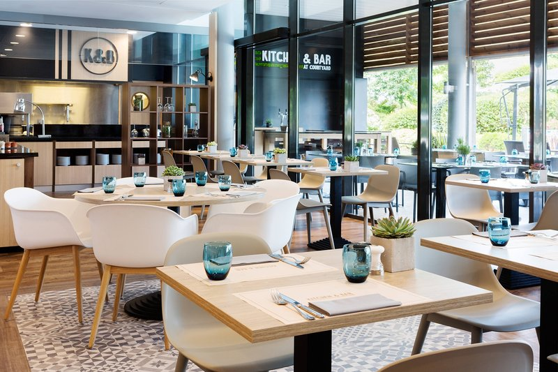 Courtyard Toulouse Airport-Kitchen and Bar<br/>Image from Leonardo