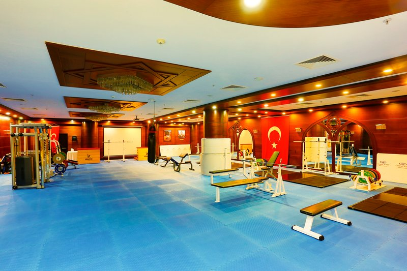 Crowne Plaza Antalya-Gym<br/>Image from Leonardo
