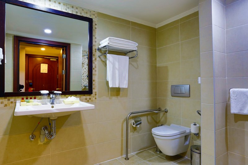 Crowne Plaza Antalya-Guest Bathroom<br/>Image from Leonardo