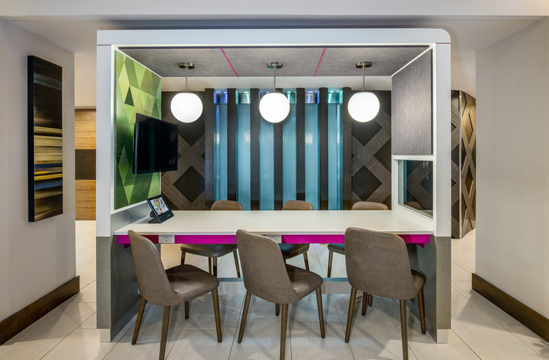 Crowne Plaza Seattle-Downtown-Catch up on email and conversation in one of our work spaces.<br/>Image from Leonardo