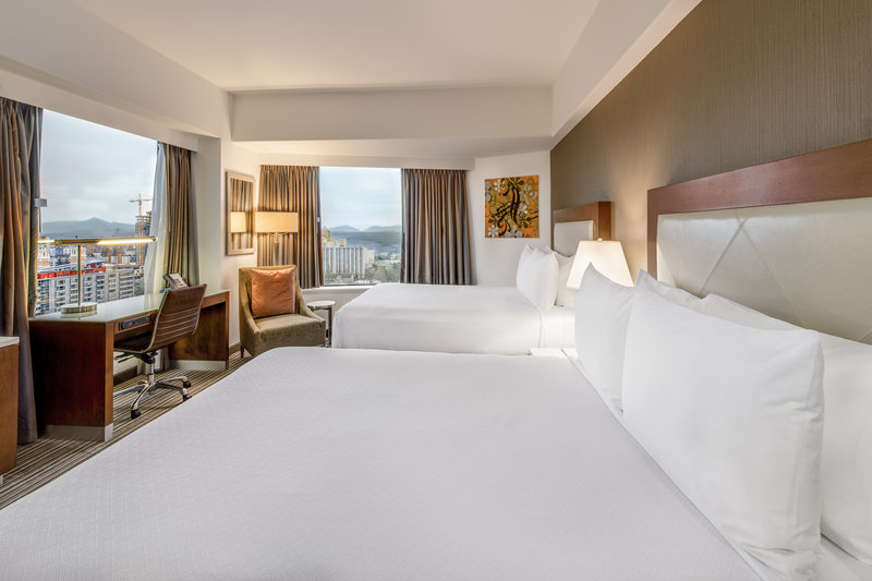 Crowne Plaza Seattle-Downtown-Double Bed Guest Room<br/>Image from Leonardo