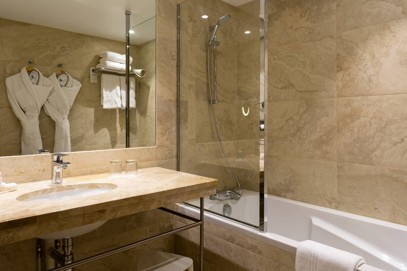 Autograph Collection L'Hermitage Gantois-Guest Bathroom<br/>Image from Leonardo
