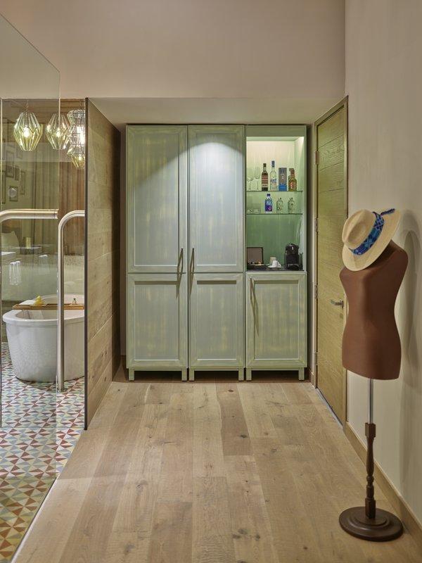 Live Aqua San Miguel Allende-Room Closet & Minibar<br/>Image from Leonardo