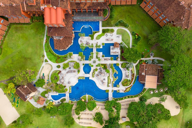 Marriott Los Suenos Ocean & Golf Resort-Aerial View<br/>Image from Leonardo
