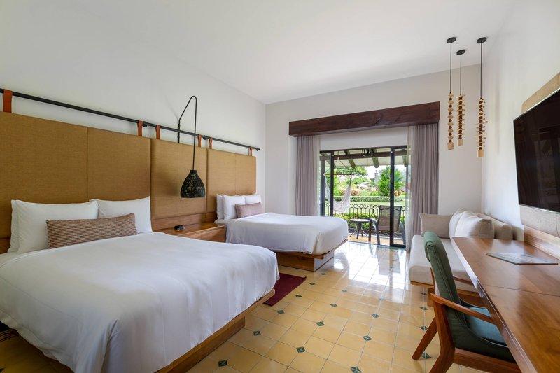 Marriott Los Suenos Ocean & Golf Resort-Double/Double Garden Terrace Guest Room -<br/>Image from Leonardo