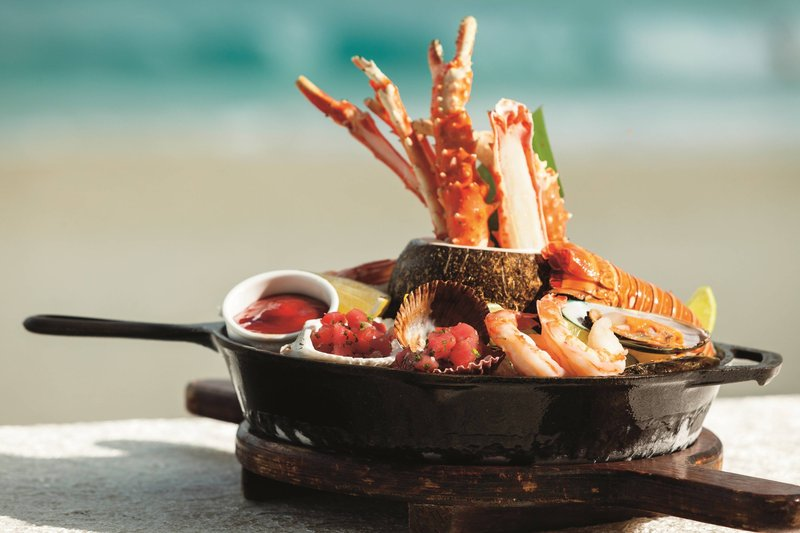 The Ritz-Carlton Cancun - Las Casitas - Seafood Platter <br/>Image from Leonardo