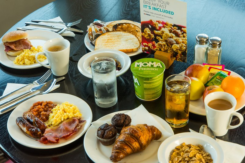 Holiday Inn Express Milton Keynes-You're spoilt with choices from our inclusive breakfast buffet<br/>Image from Leonardo