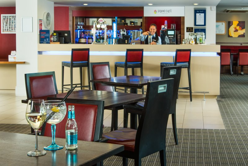 Holiday Inn Express Milton Keynes-take the weight off after a long day, relax in our hotel lounge.<br/>Image from Leonardo