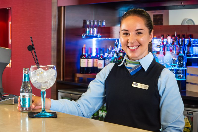 Holiday Inn Express Milton Keynes-What's your tipple? our team will pour you the perfect G+T<br/>Image from Leonardo