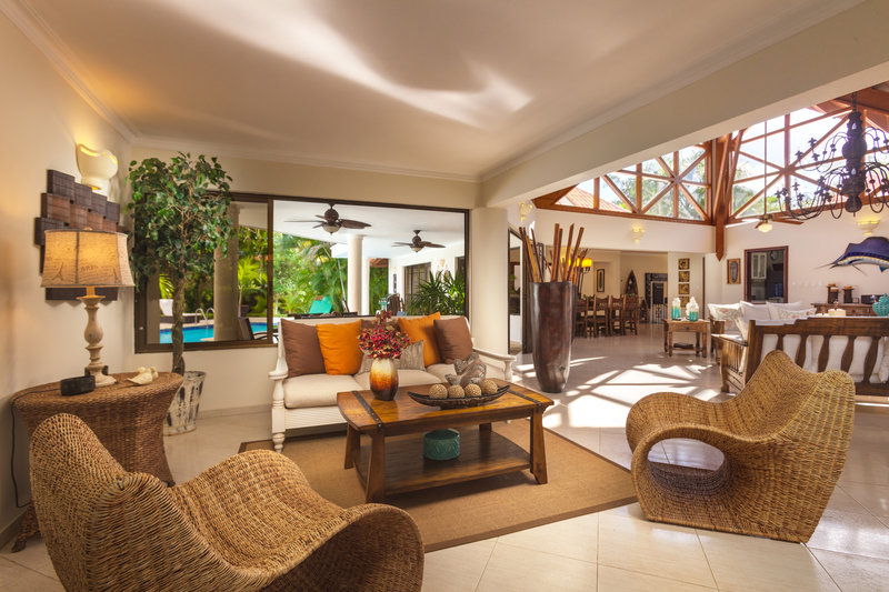 Casa De Campo - Villa Almendros Classic 4 Bedroom Living Room <br/>Image from Leonardo